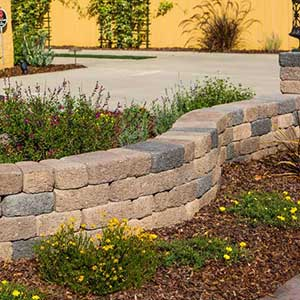Keystone Country Cottage Retaining Wall Blocks