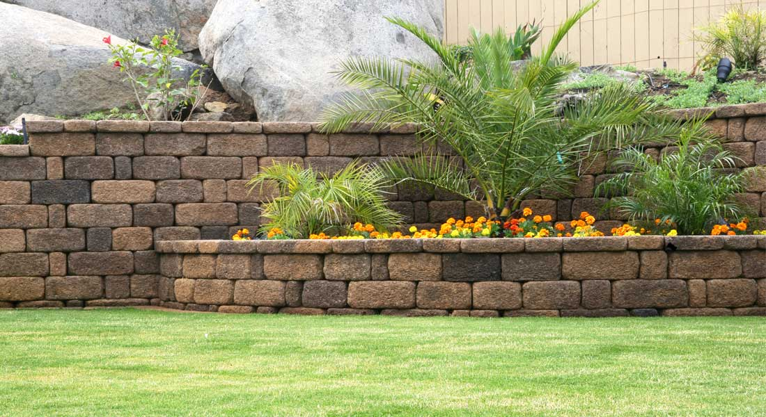 Keystone Country Manor Landscape Wall Rcp Block Amp Brick