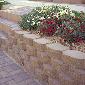 Keystone Garden Wall Retaining Wall Blocks