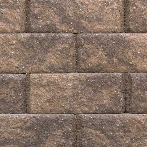 Ridgestone Brownstone Retaining Wall Blocks