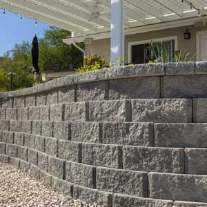 Bella Vista Ridgestone Retaining Wall Blocks