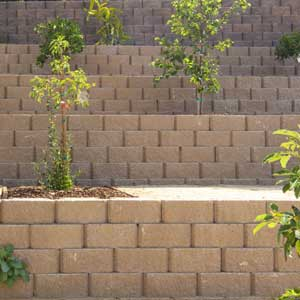 Keystone Stone Face Retaining Wall Blocks