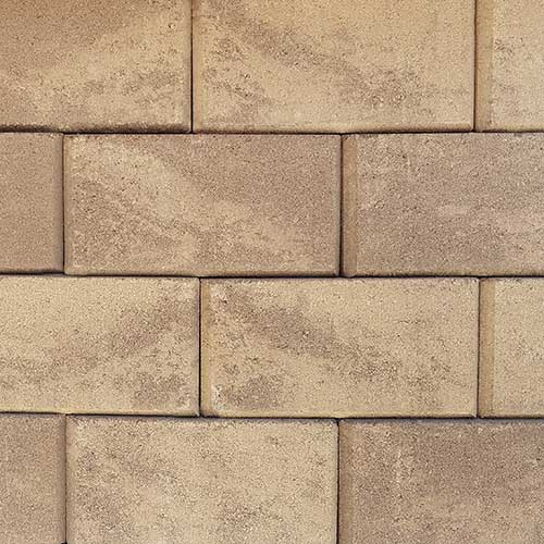 Keystone Stonegate Contemporary Retaining Wall Block Brownstone