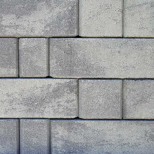 Keystone Stonegate Contemporary Retaining Wall Block Greystone