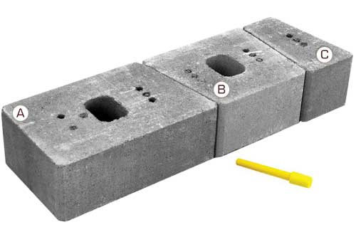 Keystone Stonegate Contemporary Retaining Wall Block Pieces
