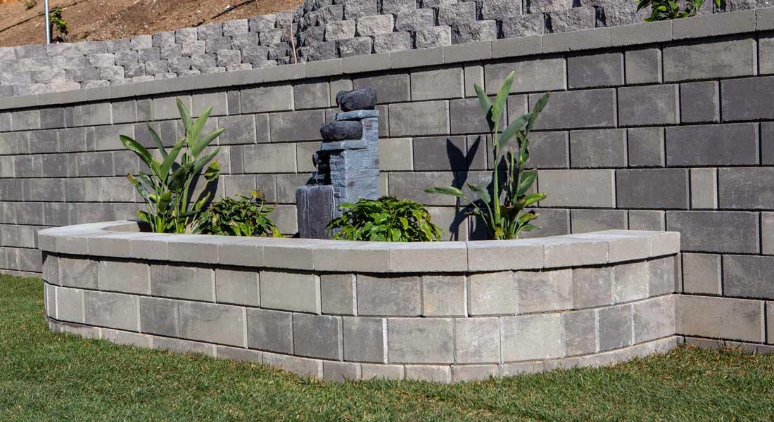 Keystone Stonegate Contemporary Retaining Wall Blocks