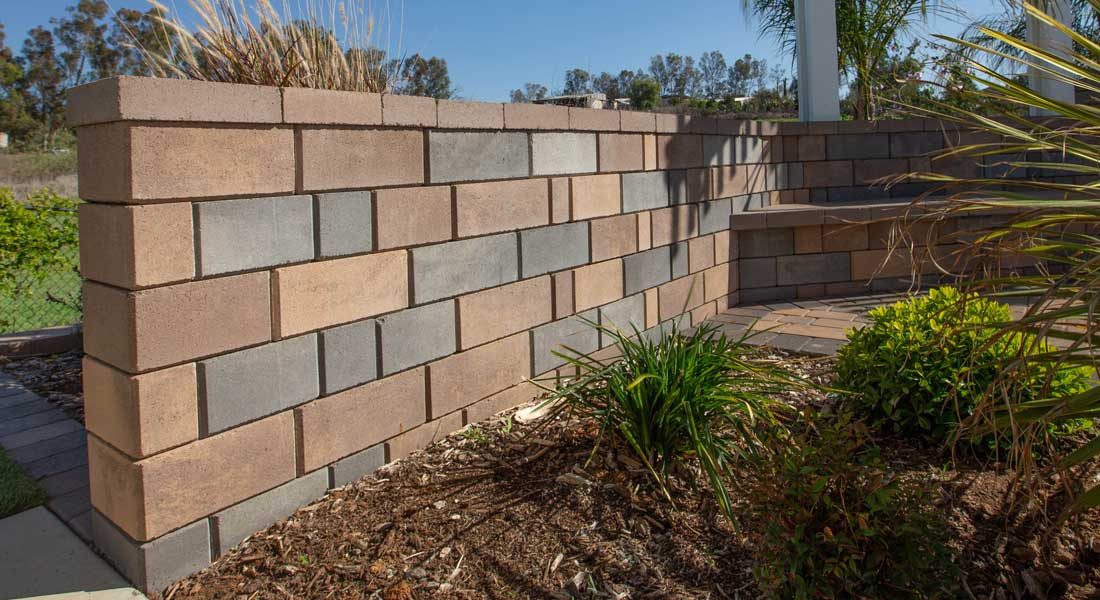 Keystone Retaining Wall Blocks Stonegate Contemporary Freestanding Wall