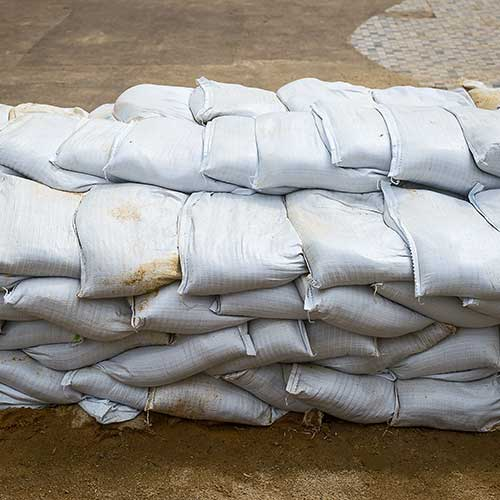 Sand Bags for Flood Control