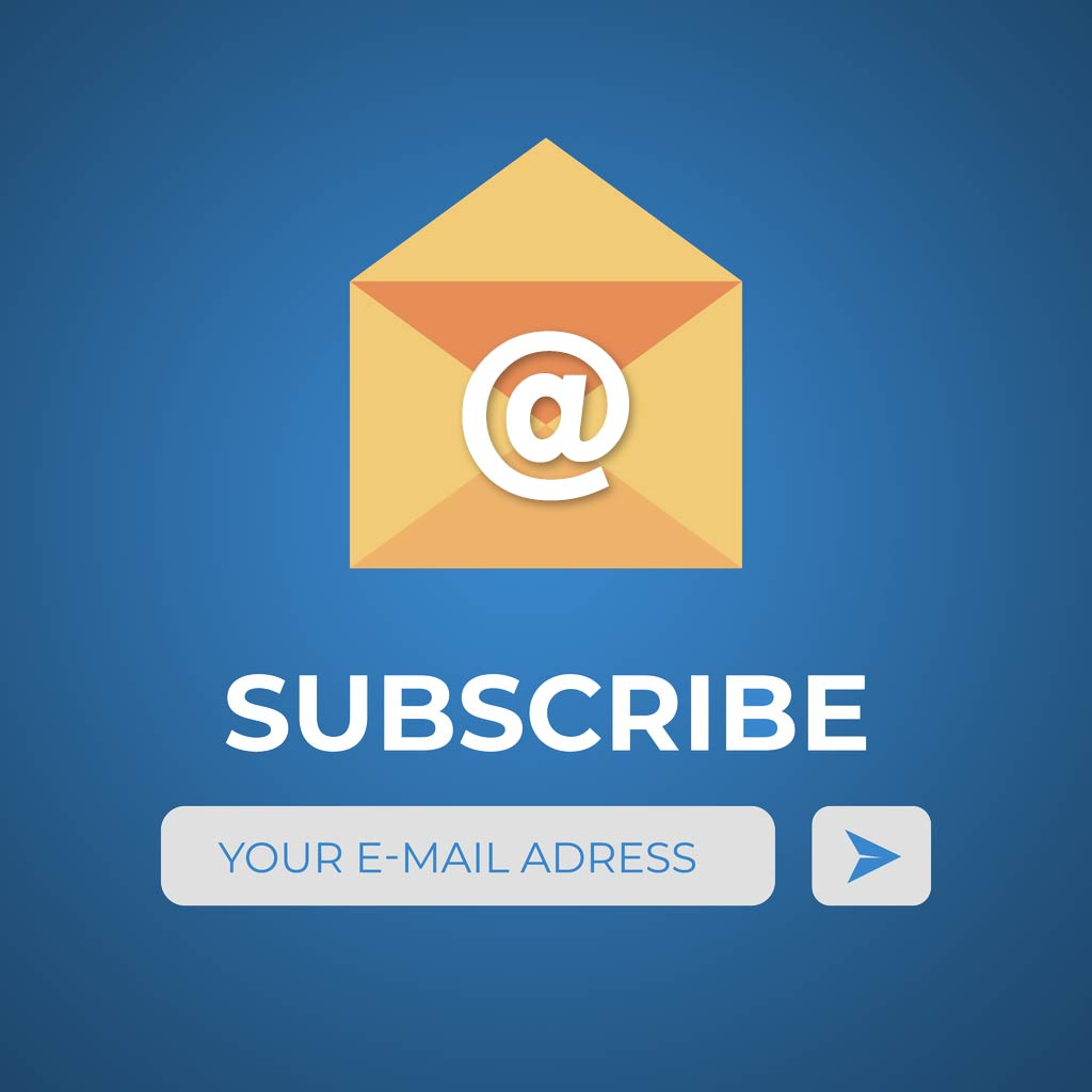 RCP Email Blast Subscription Sign Up