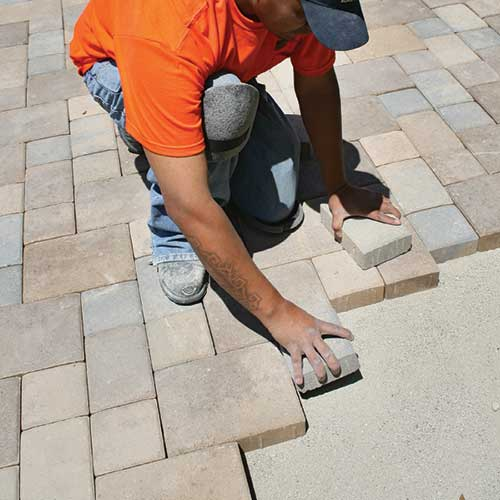 Installing Concrete Pavers Guide