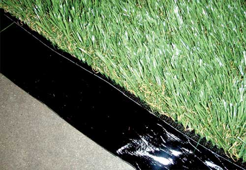Turf Tape to Secure Seams