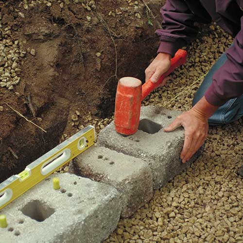 How To Install A Retaining Wall Rcp Block Brick