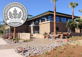 LEED Award Winner Arnol and Mabel Beckman Center for Conservation Research