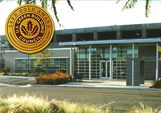 LEED Award Winner Mesa College Police Offices