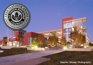 LEED Platinum Winner Miramar College Police Station