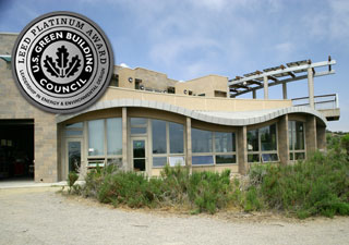 LEED Platinum Winner San Elijo Nature Center
