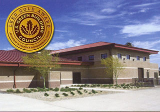 LEED Platinum Winner P-1029 Weapons Field Battalion